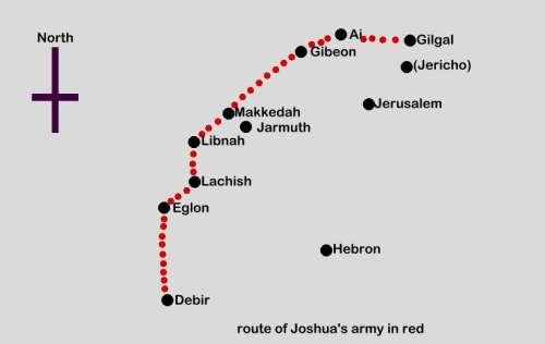 Joshua in the bible summary