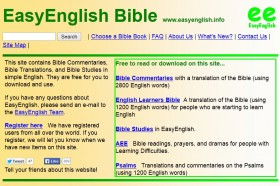 Old EasyEnglish Website
